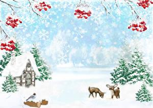 Winter_Deer_Berry_Houses_Birds_Sorbus_Spruce_599636_600x424.jpg