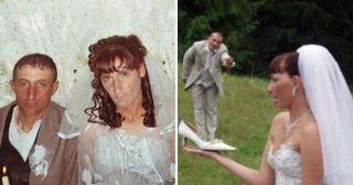 30 угарных снимков с российских свадеб, где креатив просто зашкаливает